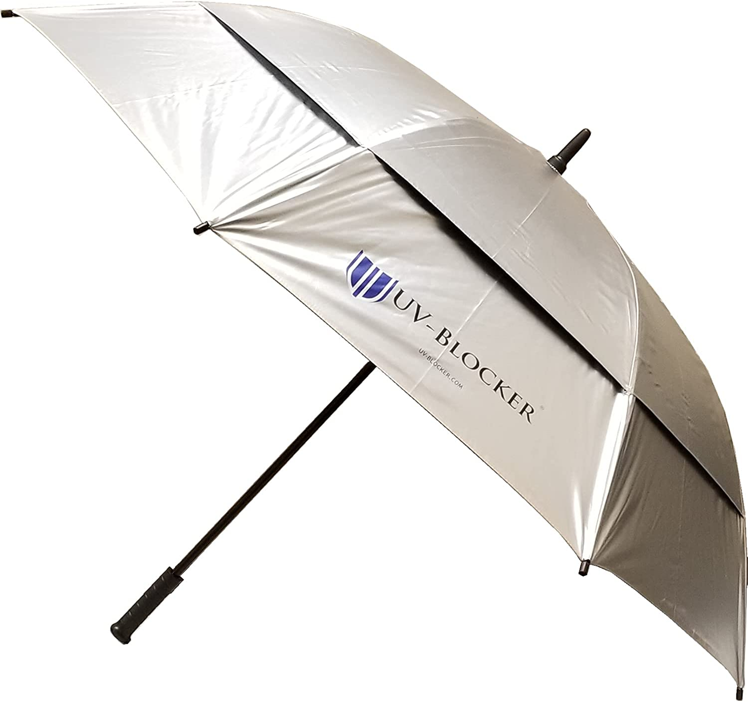 62 Inch UV Protection Umbrella - Discount is also Year-end annual account underway Go Fashion Automatic Open Stick