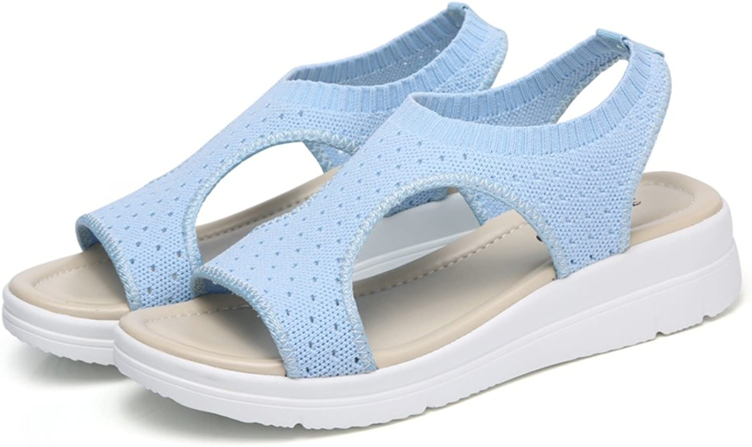 MET RXL Lady,Summer,Breathable,Mesh shoes Flat,Pure color Sandals
