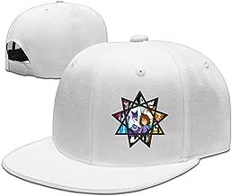 Fav Undertale Star Crest Fitted Flat Brim Baseball Hats