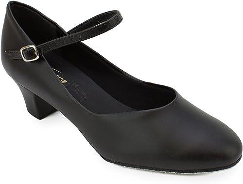So Danca ch 791caractère Chaussures Chaussures de Danse Cuir Cuir Chromé Semelle Weite m Cuir Paragraphe 4cm  jusqu'à 70% de réduction