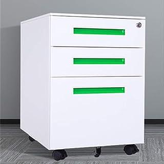Caisson de Bureau Armoires mobiles d'acier armoires mobiles armoires d'armoires de tiroirs avec des armoires latérales de ...