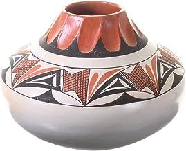 Vintage Hopi Polychrome Pottery by Eunice Fawn Navasie 0016