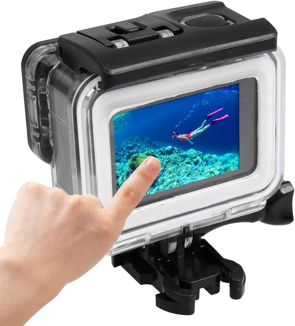 Camera Max 59% OFF Accessories for GoPro HERO5 Waterproof ABS Housi Same day shipping PC 30m