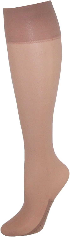 L`eggs Luxe Sheer Women`s Massaging Foot Trouser Sock