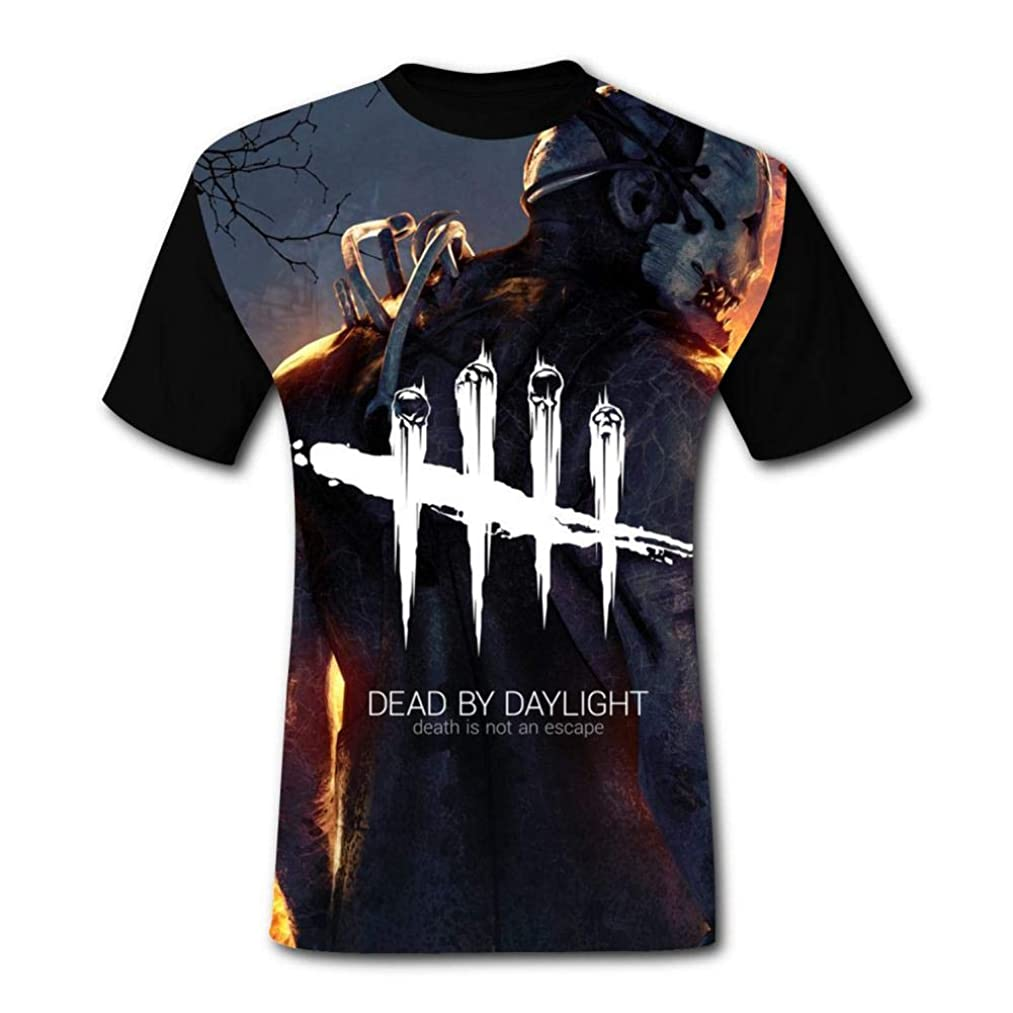 Dead Skeletons Daylight 3D Printed O-Neck Boys Tee-Shirts Casual Short Sleeve T Shirt for Mens