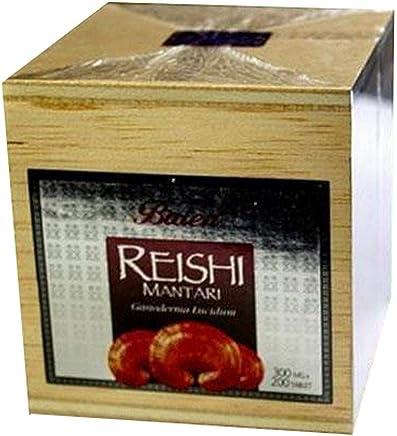 Balen Reishi Mantarı Tablet 200 tahta kutu