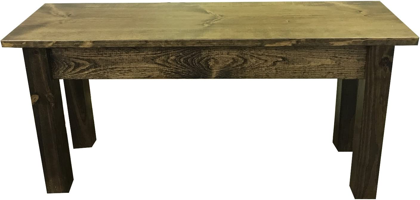 famous Max 84% OFF Rustic Bench 48