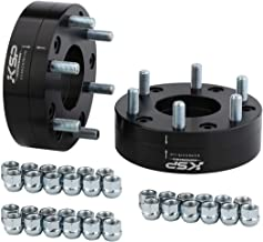 KSP 5x5.5 to 6x5.5 Dually Wheel Adapter Spacers, 2