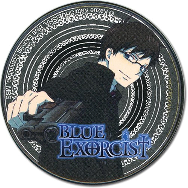 Great Eastern Entertainment bluee Exorcist Yukio Button, 2
