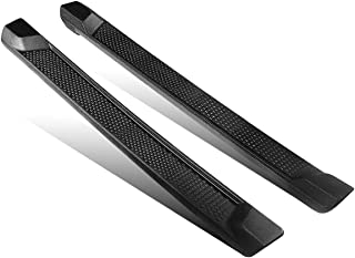 AUTOSAVER88 6 inches OE Style Running Boards, Nerf Bars, Side Steps Fit for 2018-2019 Jeep Wrangler JL 4-Door Black (Excl JK Model)