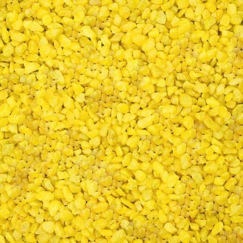 Dekogranulat / Dekosteine (2-3 mm), 1 kg, gelb