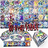 100 Various V and Vmax Poke Pack,Includes 40 Higher Level HP Rare Cards (VMAX)-The Latest VMAX Box