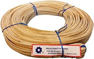 New 500' Hank of Binding Cane Binder 3 Sizes to Choose from, 4mm 5mm or 6mm, for Baskets, Seat Weaving and Wrapping Wicker Furniture (5mm)