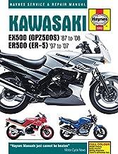Kawasaki EX500 (GPZ500s) & ER500 (ER-5) Motorcycle Service and Repair Manual (Haynes Service & Repair Manual) by Editors of Haynes Manuals (2015-10-15)