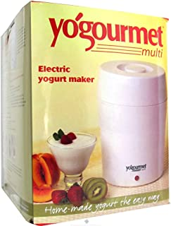 Kefir Maker/Yogurt Maker Kit with Cheese Maker Bag and Thermometer -Makes 2 Litres (2.1Quarts) Brand: Yogourmet