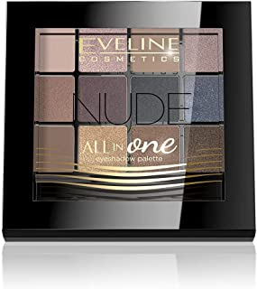 Eveline Eyeshadow Palette All In One 12 Colors Nude