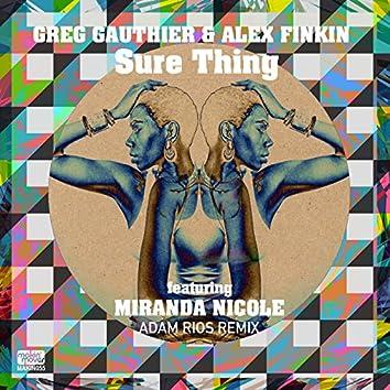 Sure Thing (Adam Rios Remixes) [feat. Miranda Nicole]