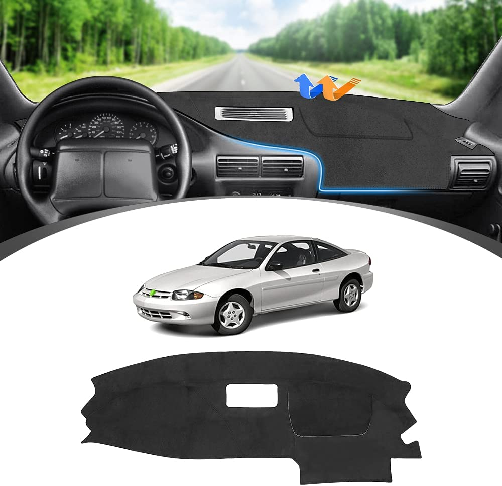 FIILINES Dashboard Max 62% OFF Cover for Our shop most popular Chevrolet 1995-2005 Cavalier Chevy