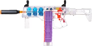 JGCWorker Dominator Series C Blaster with 6 Flywheel Kit Compatible with Nerf Soft Darts, Enhanced Version of The Automatic Toy Blaster