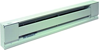 TPI H2907040SW Series 2900S Electric Baseboard - Stainless Steel Element Convection Heater, 40