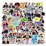 The Office Stickers Mixed Pack[50 Pack]Vinyl Waterproof for Laptop Stickers,Skateboard, Hydro Flask, Water Bottle, Computer, Guitar,Luggage, Bike Bumper.Adults Kids Teens for Stickers