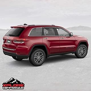 XPLORE Outdoors American Flag Window Decals   Car, SUV, Trucks   Fits All Models   (28