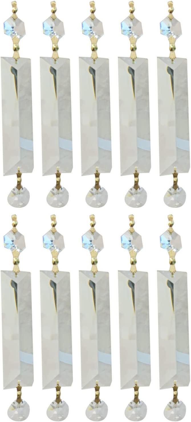 Large discharge sale Royal Designs Latest item Replacement Chandelier Clear Qual Prism K9 Crystal