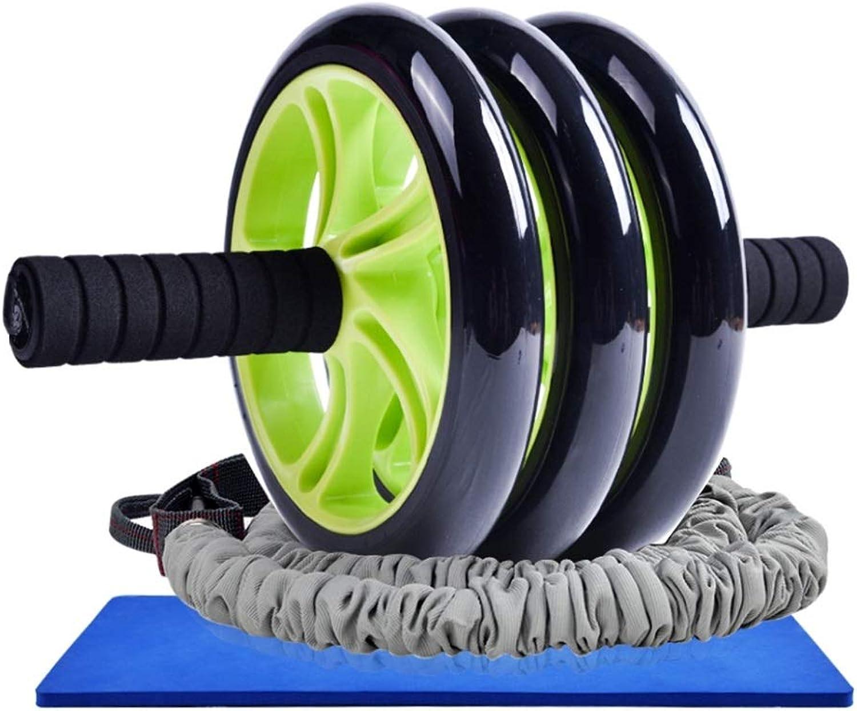 Bauchtrainer Ab Roller, Multifunktion Mehrfachwinkelig Sport Bauchmuskel Ader Größe Strke Ausbildung (Kompletter Satz Ausrüstung)