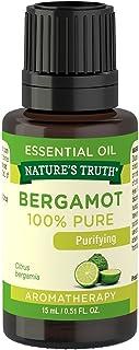 Nature's Truth Vitamins Bergamot Essential Oil, Bergamot, 0.51 Fluid Ounce