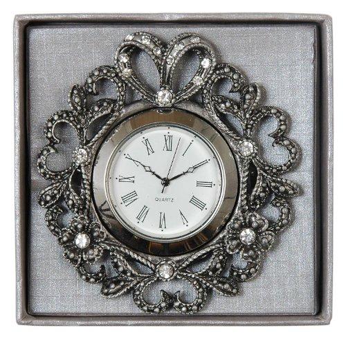 CLAYRE & EEF. Orologio - Clock - Uhr. 6KL0072. Grigio scuro - Dark gray Cm. 8 x 8