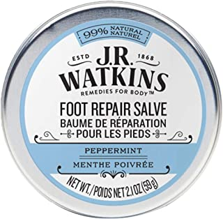 J.R. Watkins Foot Repair Salve, Peppermint 2.1 Ounce