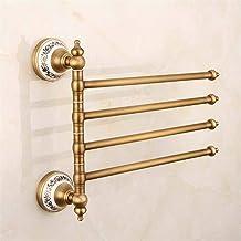 MBYW moderne minimalistische hoge dragende handdoek rek badkamer handdoekenrek Shelf/Home Decoration Hanger/Pure Koper Rot...
