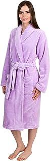 TowelSelections Women's Super Soft Plush Bathrobe Fleece Spa Robe Made in Turkey