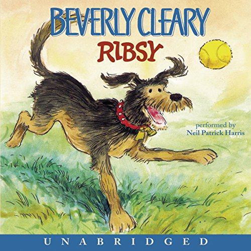 Ribsy audiobook cover art