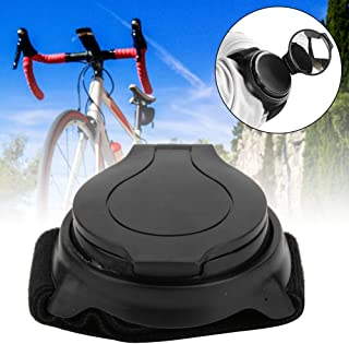 Comfortable Sturdy and Durable 360 Degree Retotation Bike Rearview Mirror, Plastic Cycle Rearview Mirror, Accessory Bike