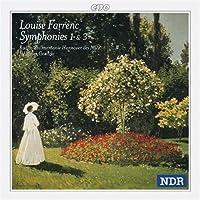 Farrenc: Symphony No. 1 Op. 32 in C Minor / Symphony No. 3 Op. 36 in G Minor (1998-08-25)