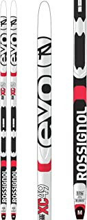 Rossignol Evo XC 49 IFP Mens XC Skis w/Tour Step-in Bindings XC Ski Package Mens