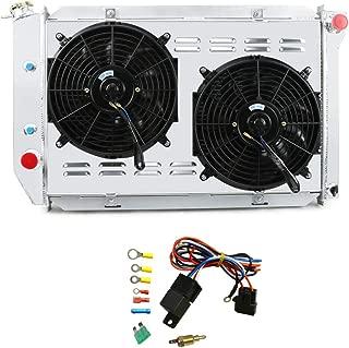 OzCoolingParts 3 Row Core Aluminum Radiator + 2 x 12