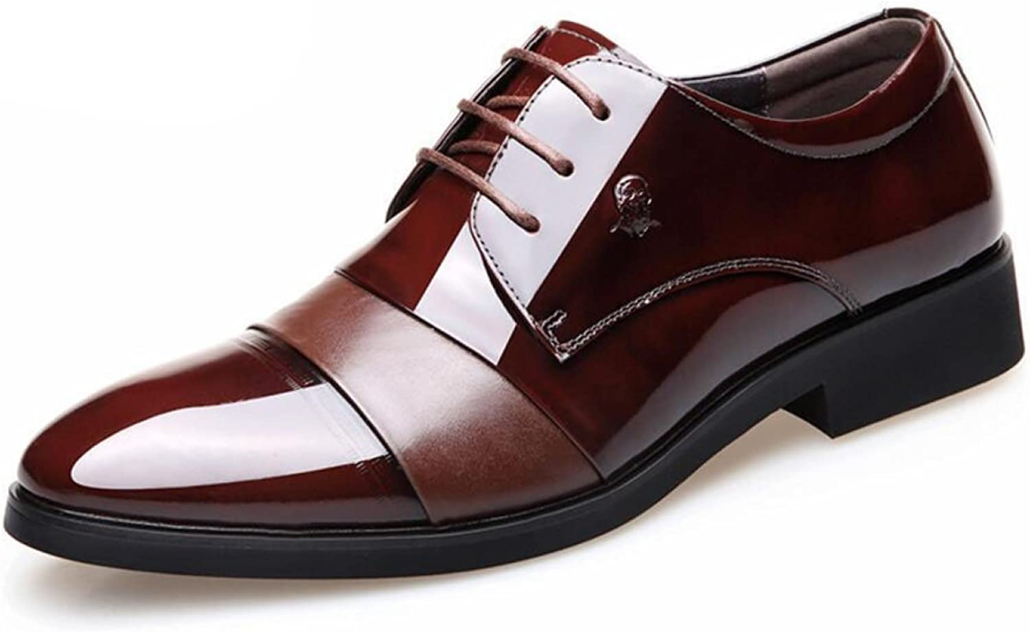 Men Stealth Within The Increase Men's shoes Business Suits Breathable Wedding shoes Groom Leather shoes