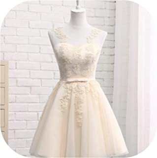 Bridesmaid Dresses Long Sleeveless Lace Appliques Formal Prom Party Dresses