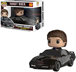 Funko Pop Ride: Knight Rider - Michael Knight with Kit Collectible Figure, Multicolor