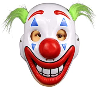 supremask Clown Mask Movie Mask Party Cosplay Costume Props Halloween White