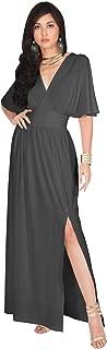 grey maxi dresses for weddings
