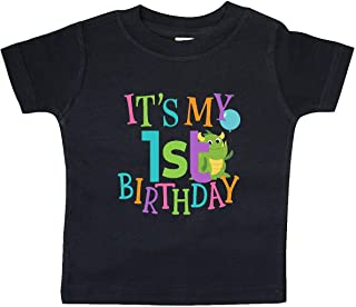inktastic - Cute First Birthday Monster 1 Year Old Baby T-Shirt 337c7