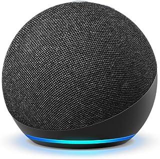 Echo Dot (4th Gen, 2020 release)| #1 smart speaker brand in India with Alexa (Black)