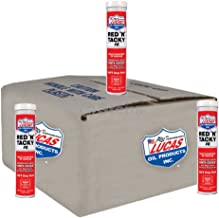 Lucas Oil Red N Tacky Grease, (10 Pack)