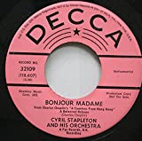 Cyril Stapleton and His Orchestra 45 RPM Bonjour Madame / A Countess From Hong Kong