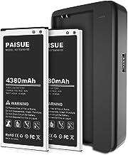 Galaxy Note 4 Battery, 2x4380mAh Li-ion Replacement Battery for Samsung Note 4 N910, N910U 4G LTE, N910V(Verizon), N910T(T...