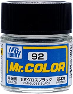 Mr. Color C92 Semi-Gloss Black paint by Mr. Hobby