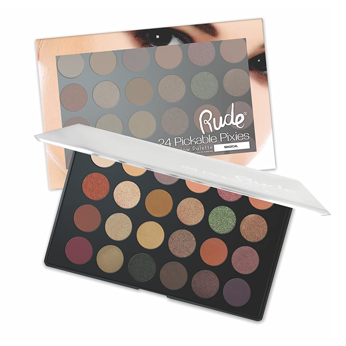 誤盟主衝動RUDE Peekaboo Pixies 24 Eyeshadow Palette - Magical (並行輸入品)